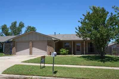 Comanche County Single Family Home Temporary Active: 5503 NW Kirkley