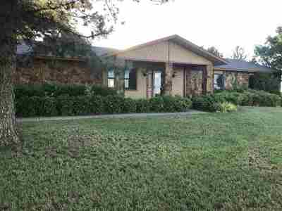 Lawton Single Family Home Under Contract: 10443 NW Chibitty Rd