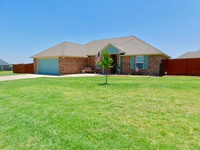 Geronimo Single Family Home Under Contract: 201 Meadow Lark Ln