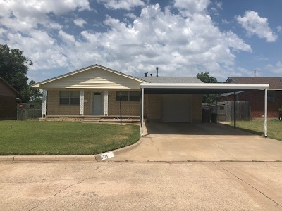 Lawton Single Family Home For Sale: 1234 NW 57th St