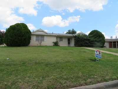 Lawton Single Family Home For Sale: 1721 NW 50th St