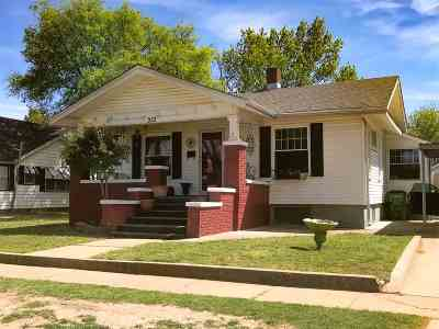 Walters Single Family Home For Sale: 312 E Colorado St