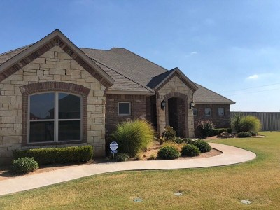 Lawton Single Family Home For Sale: 12465 SW Pecan Lakes Cir