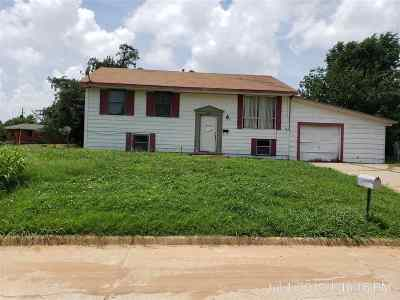 Comanche County Single Family Home Temporary Active: 2402 NW 21ST ST.