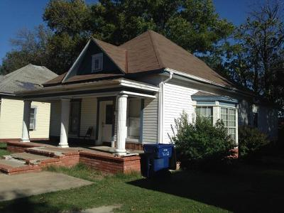 Vinita OK Single Family Home For Sale: $65,000