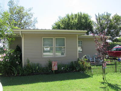 Bernice OK Single Family Home For Sale: $82,000