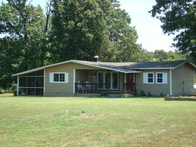 Eucha Single Family Home For Sale: 7751 S Ok-20 Hwy