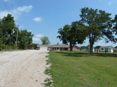 Craig County, Delaware County, Mayes County, Ottawa County Single Family Home For Sale: 63330 E 90 Rd