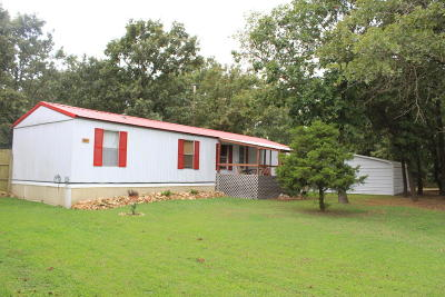 Colcord OK Mobile Home For Sale: $45,000