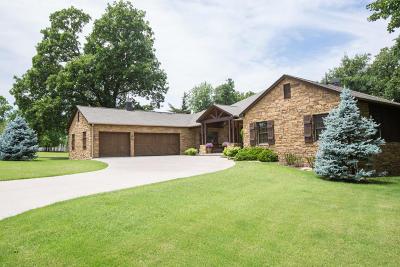 Afton, Vinita Single Family Home For Sale: 33268 Cardinal Drive