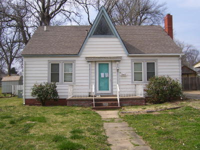 Vinita Single Family Home For Sale: 235 S Brown St