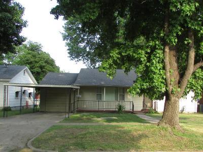 Vinita Single Family Home For Sale: 510 N Miller St