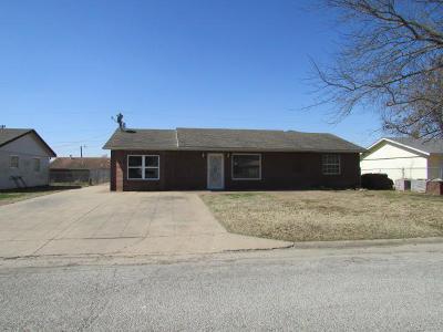 Vinita Single Family Home For Sale: 607 N Bell St