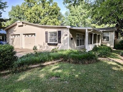 Vinita Single Family Home For Sale: 638 N Gunter St
