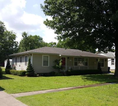 Vinita Single Family Home For Sale: 621 N Gunter St