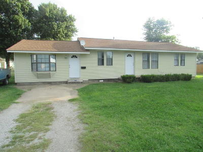 Vinita Single Family Home For Sale: 820 W Tahlequah