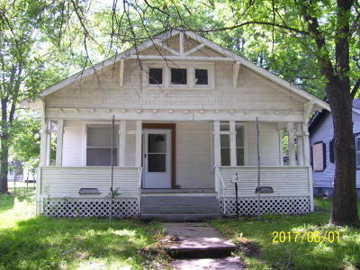 Miami OK Single Family Home For Sale: $28,000