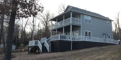 Eucha Single Family Home For Sale: 1863 Hendryx Point Rd