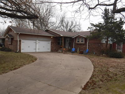 Miami OK Single Family Home For Sale: $99,500