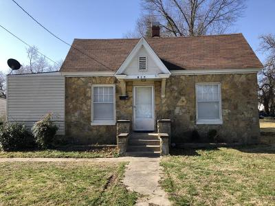 Vinita Single Family Home For Sale: 817 W Canadian Ave