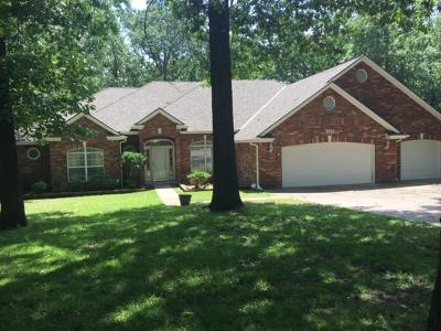 Grove Single Family Home For Sale: 1661 Dilar Dr