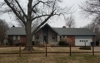 Vinita Single Family Home For Sale: 827 W Clyde Ave