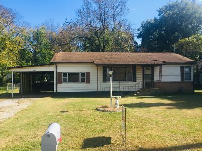 Vinita Single Family Home For Sale: 120 S Ross St