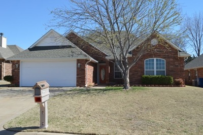 Perkins OK Single Family Home For Sale: $187,500