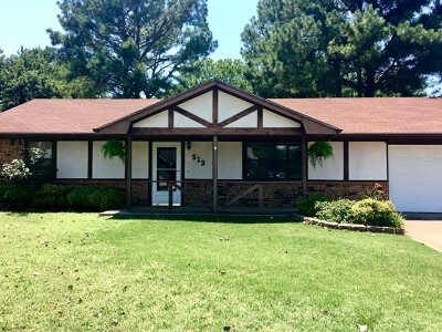 Perkins OK Single Family Home For Sale: $103,450