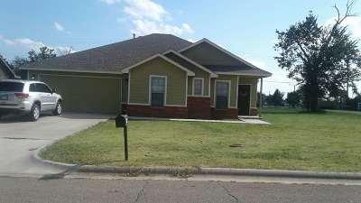 Cushing Single Family Home For Sale: 1603 Timberridge Drive