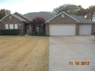 Single Family Home For Sale: 12 E Cimarron Trail