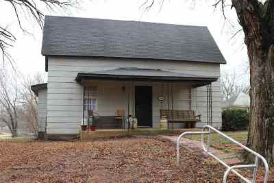 Perkins OK Single Family Home For Sale: $92,500