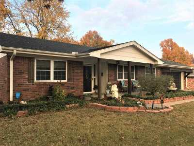 Cushing Single Family Home For Sale: 1024 E 12th Street