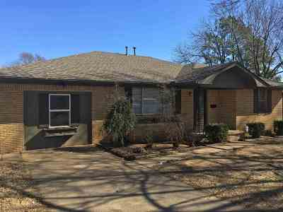 Cushing Single Family Home For Sale: 710 S Dungan Avenue