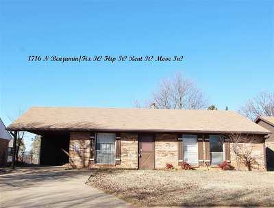 Stillwater Single Family Home For Sale: 1716 N Benjamin Street