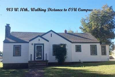 Stillwater Multi Family Home For Sale: 913 W 10th Avenue