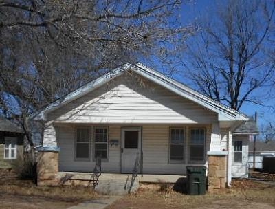 Cushing Single Family Home For Sale: 1034 E 4th Street
