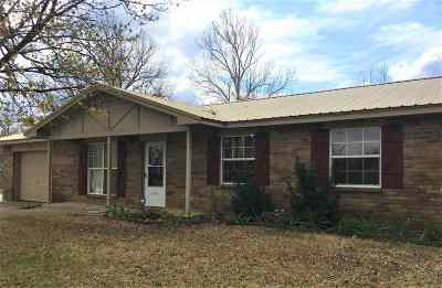 Cushing Single Family Home For Sale: 803 S Parkview Drive