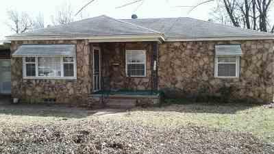 Cushing Single Family Home For Sale: 802 S Howerton Avenue