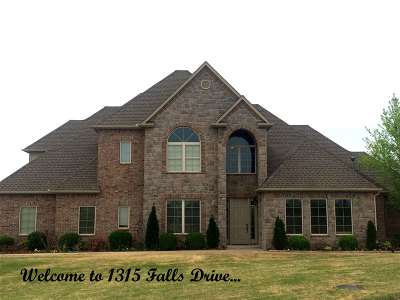 Stillwater Single Family Home For Sale: 1315 Falls Drive