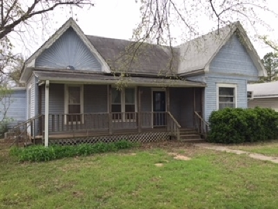Perkins OK Single Family Home For Sale: $65,500