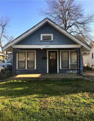 Cushing Single Family Home For Sale: 1027 E Moses Street