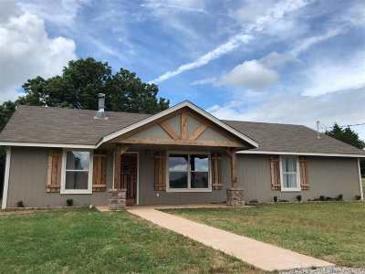 Lincoln County Single Family Home For Sale: 342504 E 750 Road