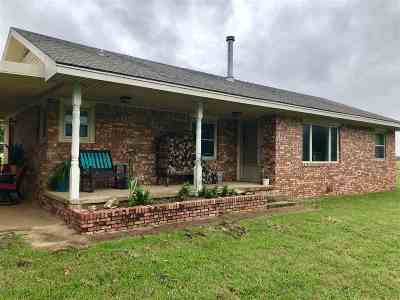 Cushing Single Family Home For Sale: 345547 E 740 Road