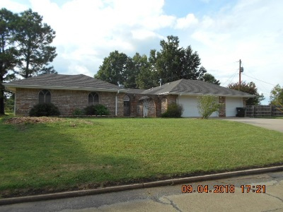 Cushing Single Family Home For Sale: 1403 S Bell Creek Drive