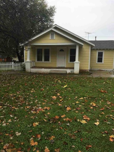 Perkins OK Single Family Home For Sale: $82,500