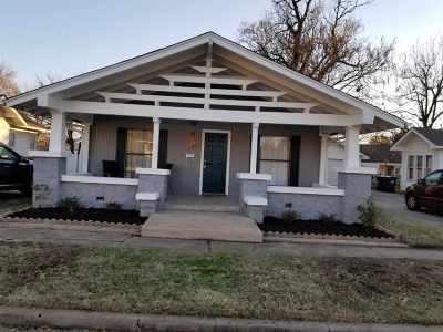 Cushing Single Family Home For Sale: 805 E Oak Street
