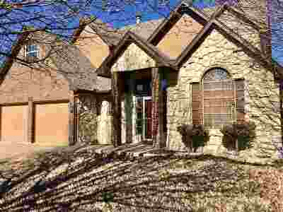 Cushing Single Family Home For Sale: 1700 E Timberridge Trail