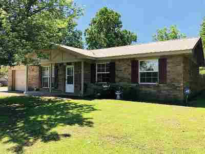 Cushing Single Family Home For Sale: 803 Parkview Drive