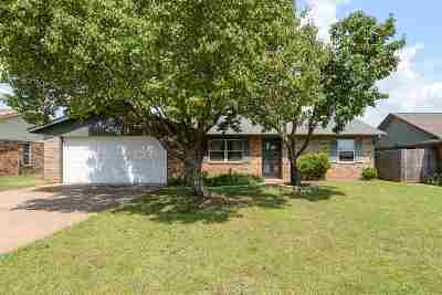 Stillwater Single Family Home For Sale: 1807 N Skyline Street